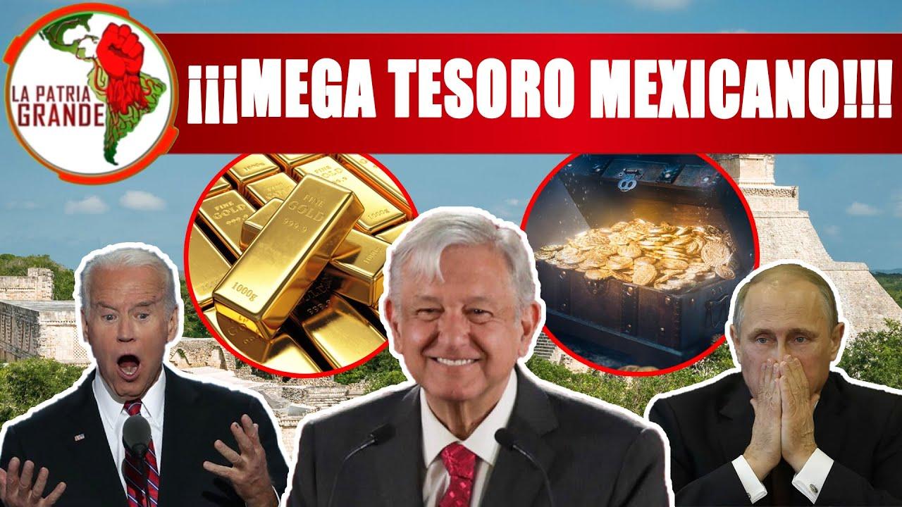 Notición! AMLO Blinda Mega Tesoro Oculto En México; Con Esto Superamos Economía D USA y Mundo Entero
