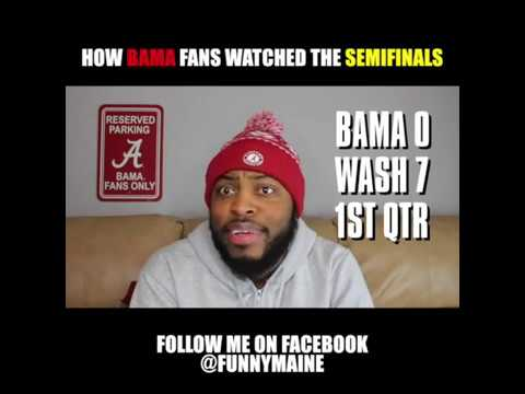 hqdefault how bama fans watched the semifinals youtube