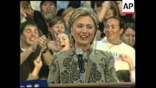 Clinton Wins NH