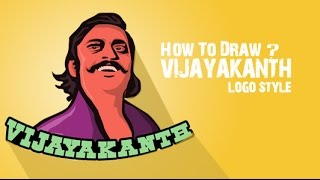 Drawing Vijayakanth 2016 | Speed Art | ISHELT