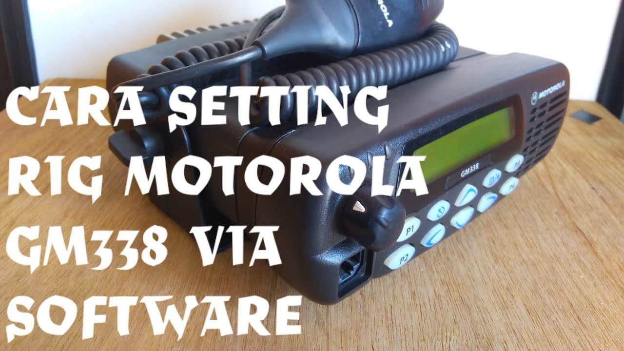 motorola gm338 user guide