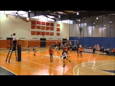 Molly McGrath #1 Whitney Young High School vs  Lane Tech 9-30-14 Girls Varsity Volleyball