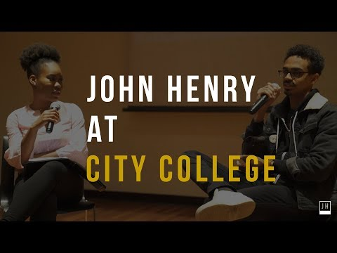 Fireside Chat with John Henry at City College Entrepreneurship Club