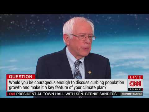 Mike Broomhead - Bernie Sanders Abortion Answer To Climate Change