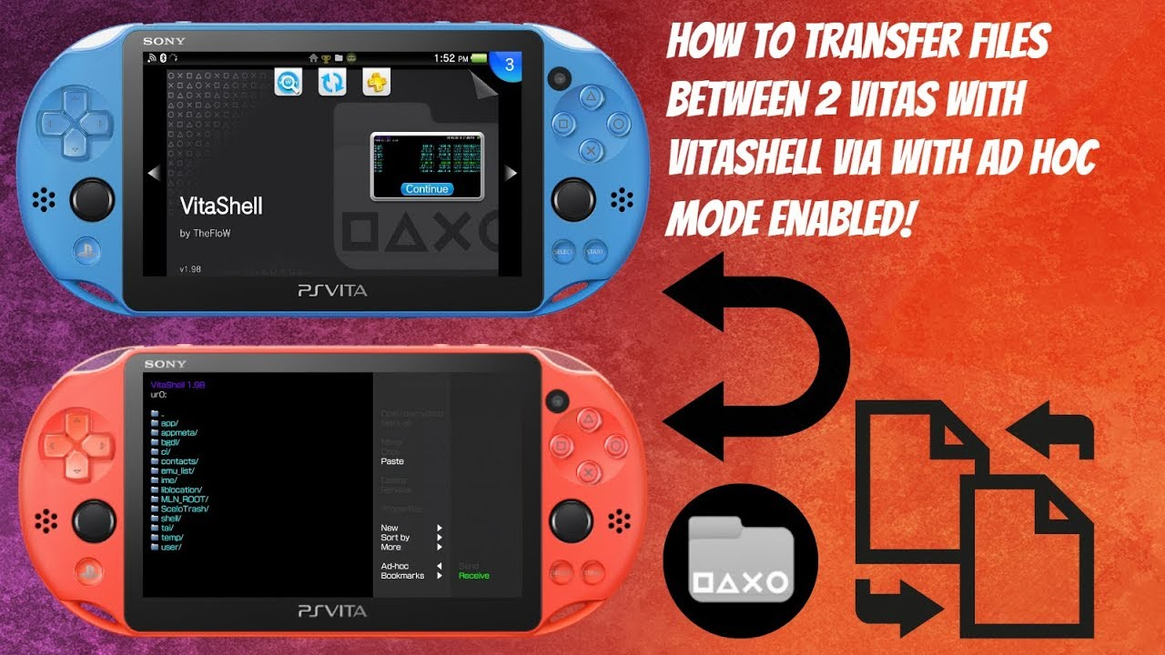 Repeat How To Transfer Files Between 2 Vita's with VitaShell Via