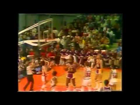1977 Playoffs (WCF) LA Lakers@Portland Game 4 HIGHLIGHTS