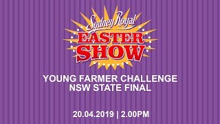 2019 Young Farmer Challenge NSW Final