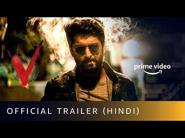 V - Official Trailer (Hindi) | Nani, Sudheer Babu, Aditi Rao Hydari, Nivetha Thomas | April 4
