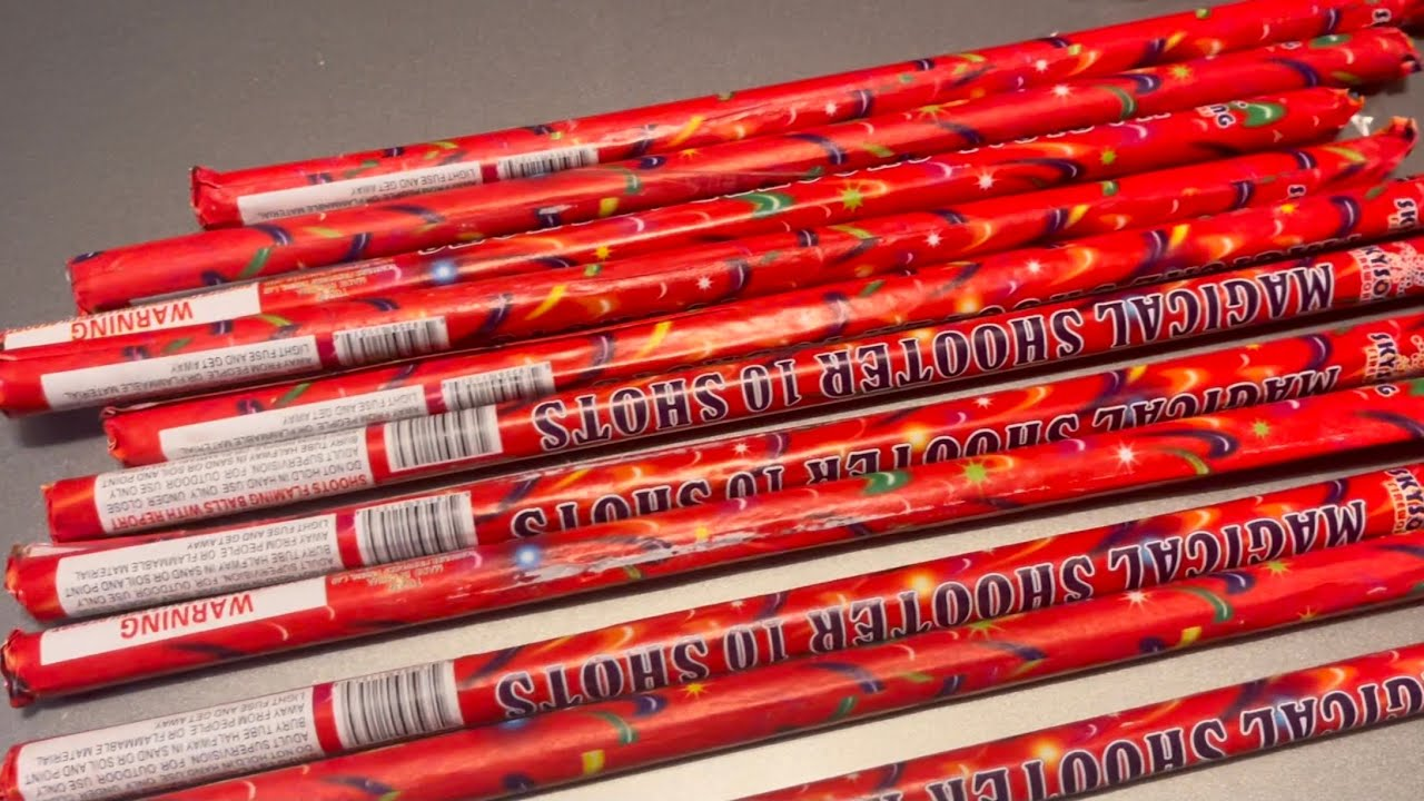 Mini Roman Candles By Skysong  Fireworks