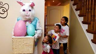 Caça ao ovo de Páscoa - Desafio surpresa de brinquedos para crianças! Heidi e Zidane