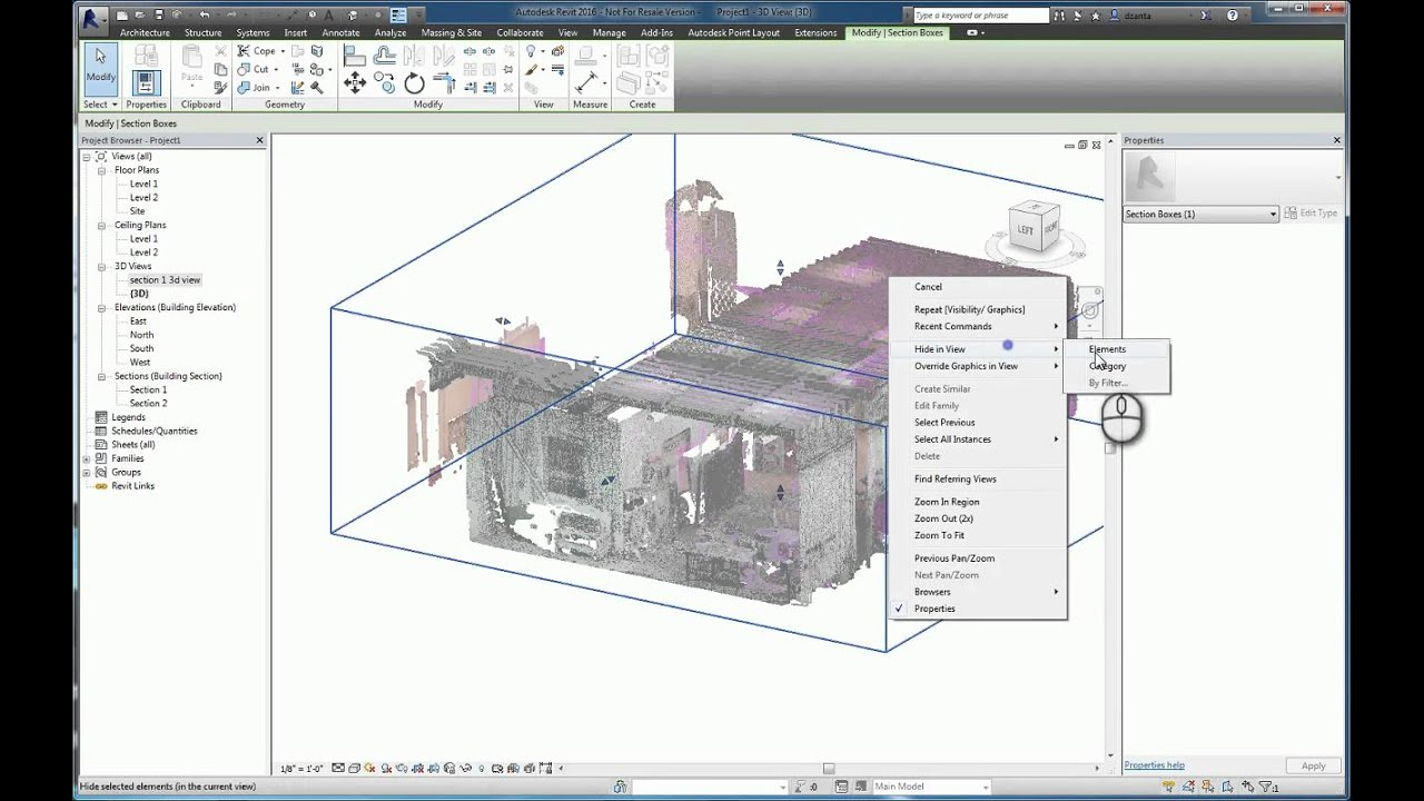da375a5aa Revit Point Cloud Insertion - A How To Guide