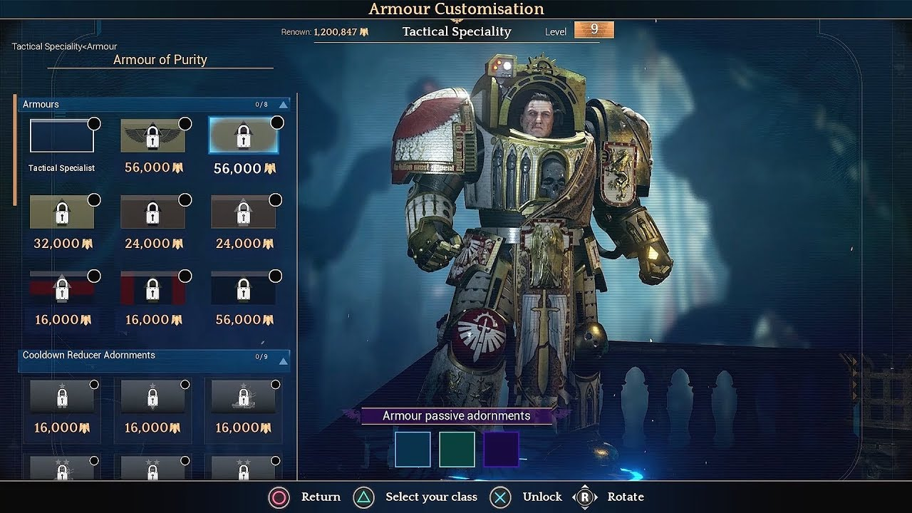 Space Hulk: Deathwing Enhanced Edition - Weapon and Armour Customization  FIRST LOOK