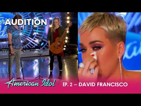 David Francisco: Car Crash Survivor Makes The Judges CRY With EMOTIONAL Song! | American Idol 2018