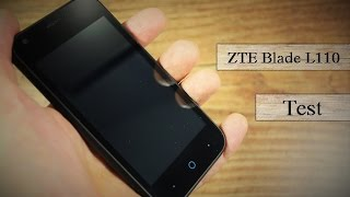 """4"""" Winzling #1 : ZTE Blade L110 - Review - Deutsch"""