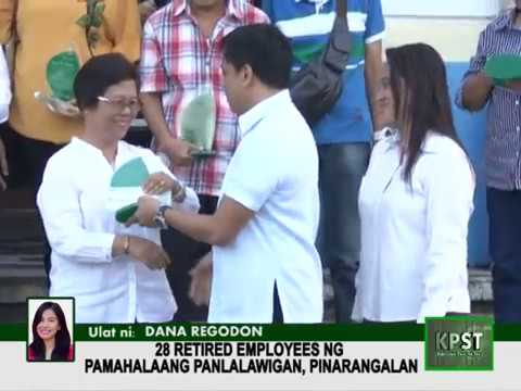 28 Retired Employess of Provincial Government of Quezon were given Recognition