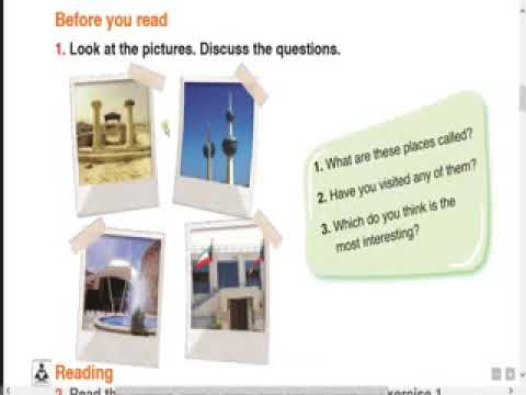 1 Target English Grade 6 Unit 2 An Advertisement For Kuwait Lesson 1