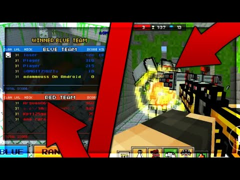How To Play ONLINE On The Old UPDATES - Pixel Gun 3D