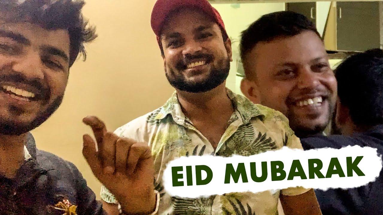Eid Mubarak With Team THF & YouTube Fan🌙