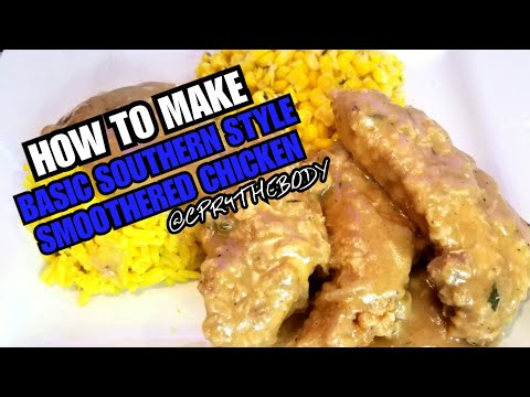 How To Make Smothered Chicken Breast (Southern Style)