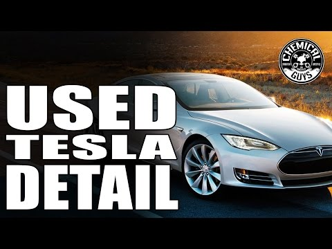 How To Detail A Used Car - Tesla Model S - Chemical Guys Car Care