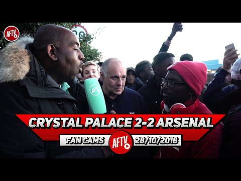 Crystal Palace 2-2 Arsenal | Taking Off Ozil & Aubameyang Was A Mistake! (Claude & Ty)