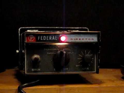 Federal Signal PA15 Siren