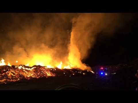This Fire was Rubbish - Pialligo April 2016
