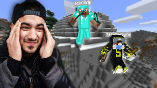 Minecraft Manhunt 2, But Hunter Have Full Diamond Armour...