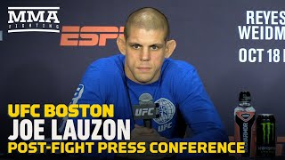 UFC on ESPN 6 Post-Fight Press Conference: Joe Lauzon - MMA Fighting Video