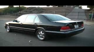 1996 Mercedes Benz S600 S 600 V12 XLNT 500 sedan W140 big body $7999