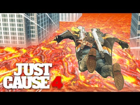 Just Cause 4 - FLOOR IS LAVA CHALLENGE! |