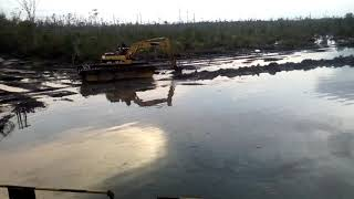 VIDEO WORKS FOR EXCAVATION OF TRENCH LINE