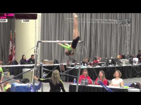 2014 Northern Lights Gymnastic Meet - Jillian - Level 4