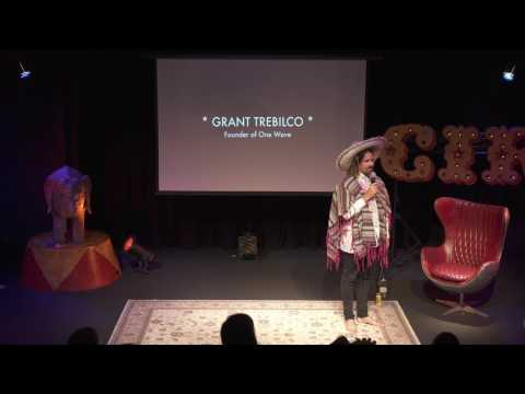 GRANT TREBILCO, founder of One Wave - The Circus of Ideas