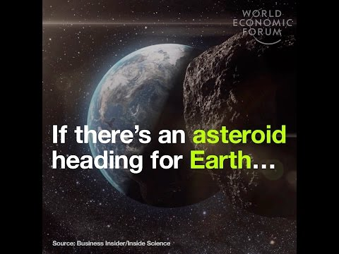 If there's an asteroid heading for Earth…  This is NASA's plan