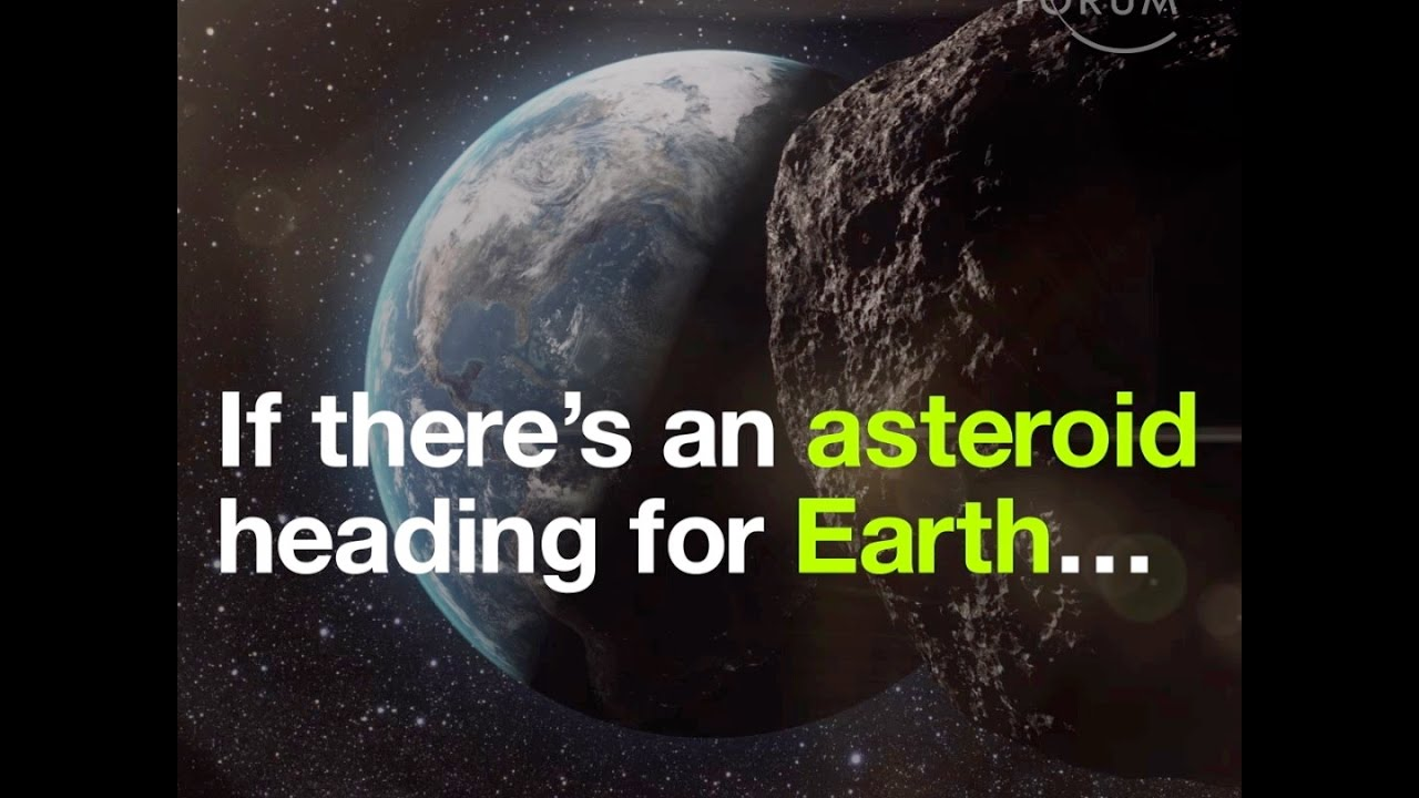 If there's an asteroid heading for Earth… This is NASA's ...