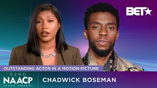 Chadwick Boseman's Wife Taylor Simone Ledward Offers Heartfelt Words For His NAACP Image Award