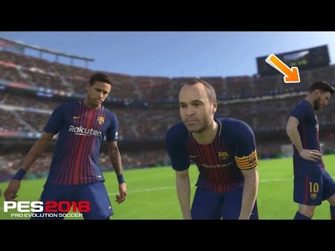 PES 2018 New Penalty Shootout System | PS4 XBox One PC Gameplay