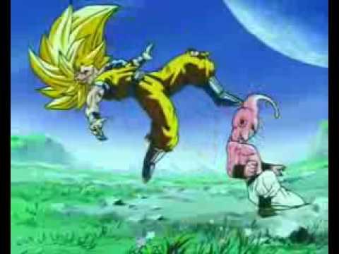 Mägo de Oz - Molinos de viento - Goku Vs Kid Buu.