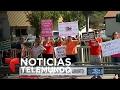 Activistas antiaborto marchan en varias ciudades | Noticiero | Noticias Telemundo