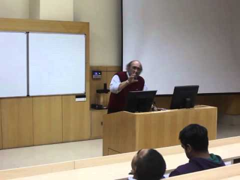Guest lecture by Mr  Paranjoy Guha Thakurta at IIM Indore on January 16, 2015