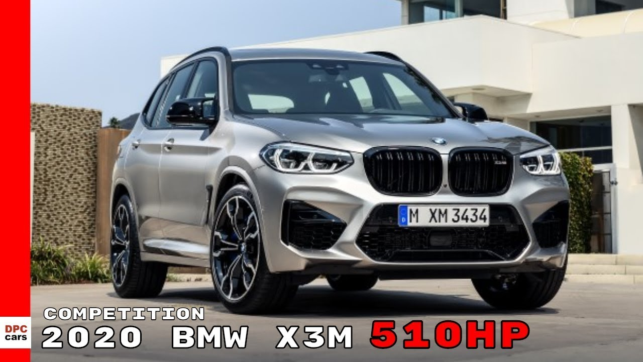 2020 BMW X3M: Performance, Appearance, Release >> 2020 Bmw X3 M Competition