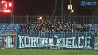 Kibice Korony Kielce w Chorzowie (24.10.2016 r.)