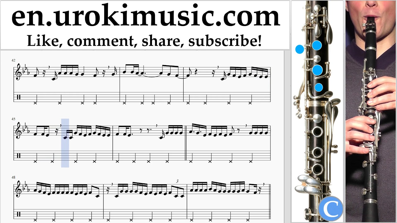 how to play clarinet youtube