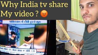 Why I broke My Tv Yesterday ? Pakistan vs India 2019