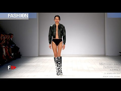 ST. GEORGE NEXTGEN Full Show MBFW AUSTRALIA RESORT 2018 - Fashion Channel