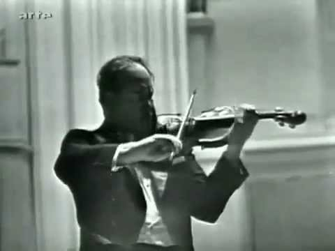 David Oistrakh - Brahms - Violin Concerto in D major, Op 77