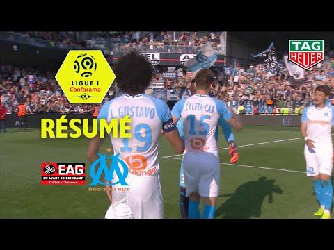 EA Guingamp - Olympique de Marseille ( 1-3 ) - Résumé - (EAG - OM) / 2018-19