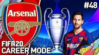THE CHAMPIONS LEAGUE FINAL! | FIFA 20 ARSENAL CAREER MODE #48
