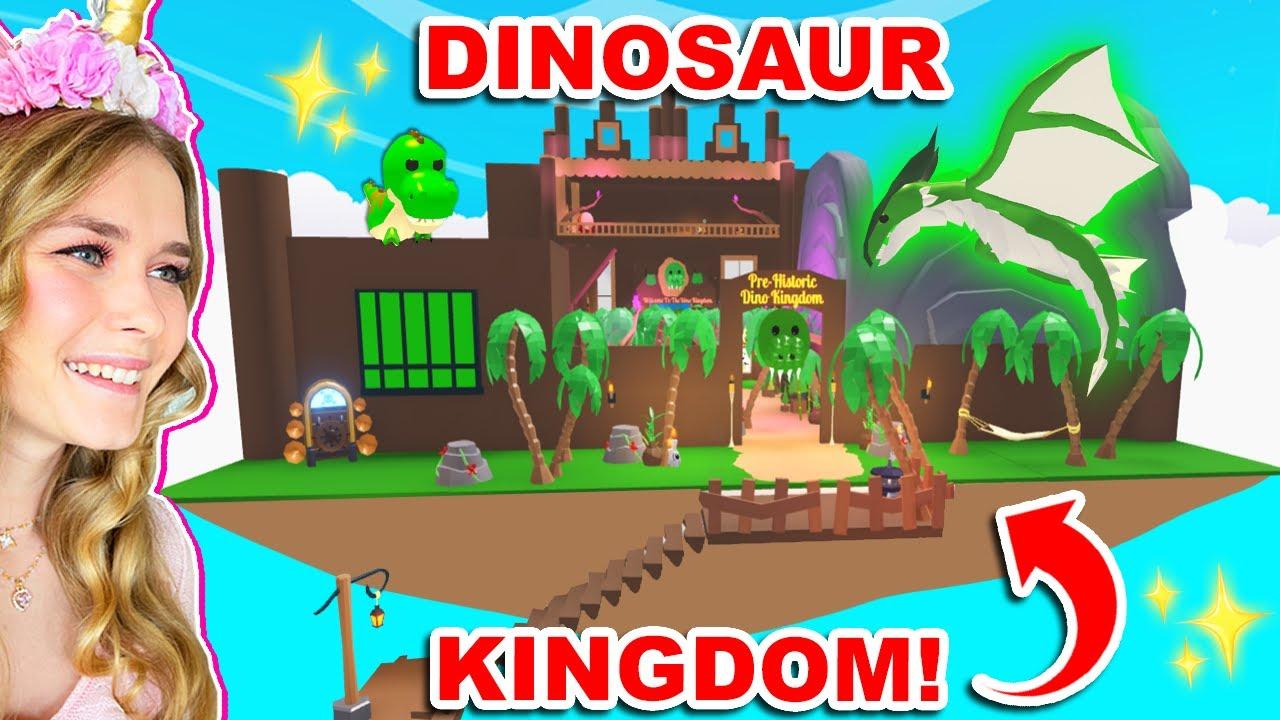 *NEW* HUGE DINOSAUR KINGDOM In Adopt Me! (Roblox)